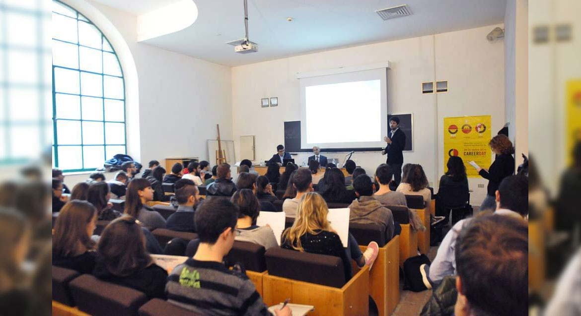 Webness al Career Day dell'Università di Urbino