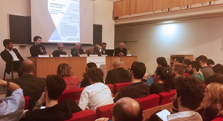Webness al Convegno Imprenditori dell?università di Urbino, CRIMPI