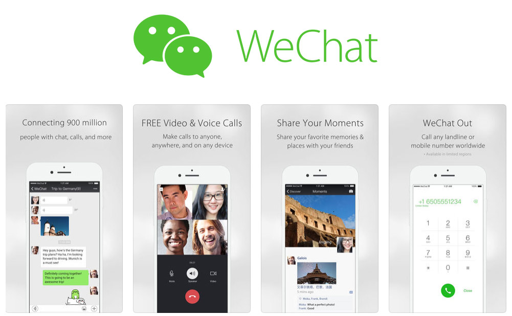WeChat business