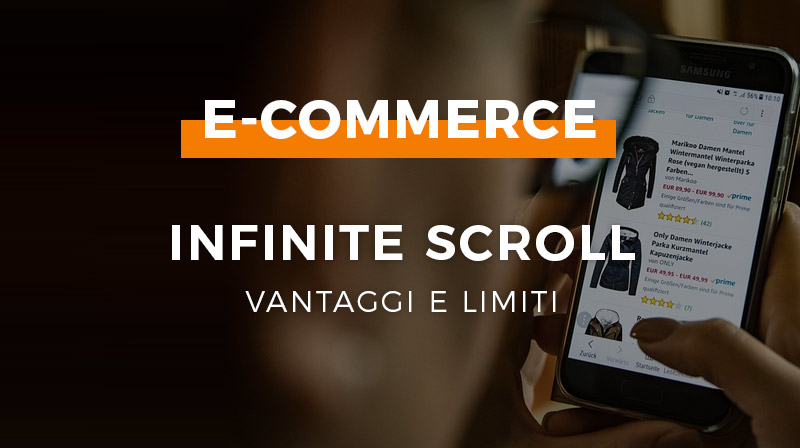 ecommerce infinite scroll