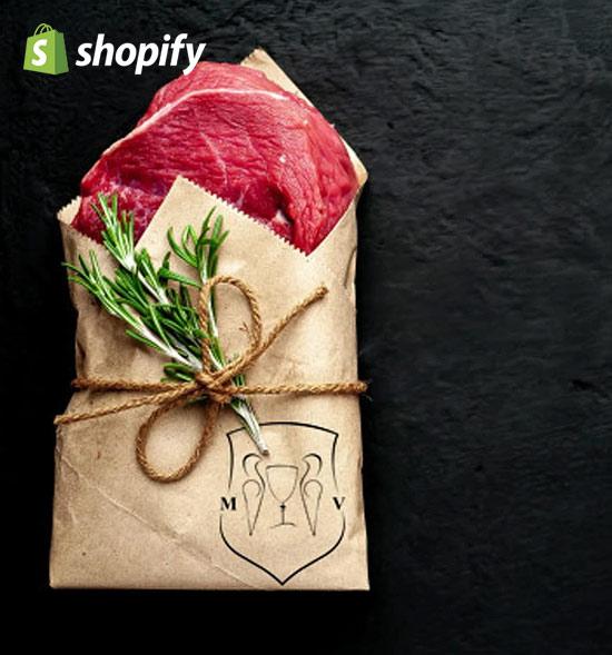 realizzazione ecommerce shopify food
